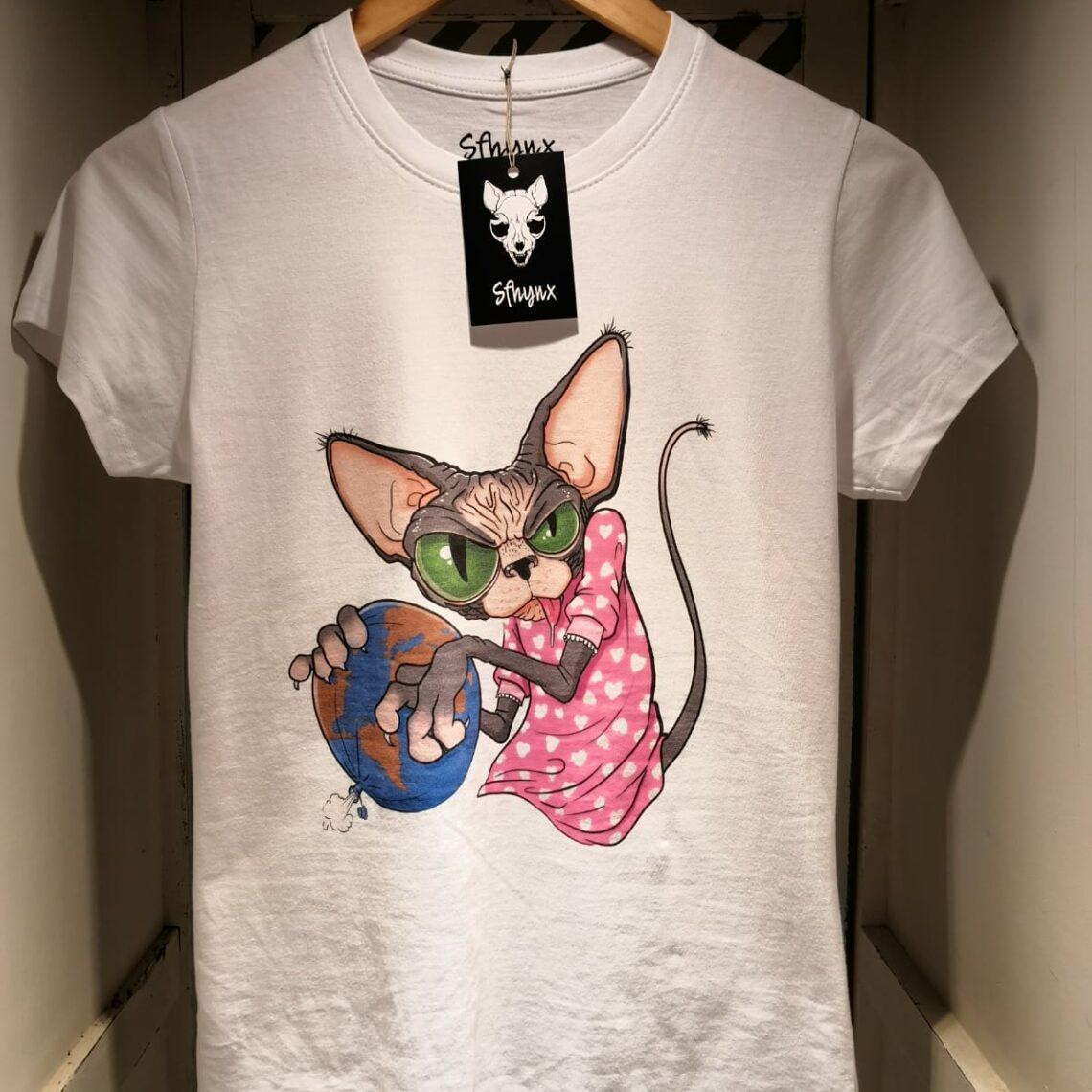 "Camiseta ""Sfhynx world"" mujer"