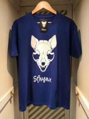 """camiseta """"Sfhynx"""" azul"""