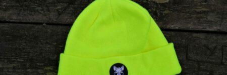 "Gorro ""Sfhynx fluorescent yellow"" unisex"