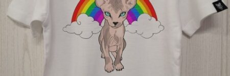 "Camiseta ""Sfhynx arcoiris"" Kids"