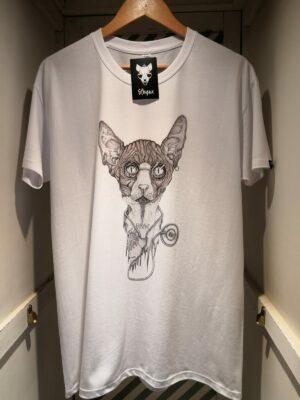 "Camiseta ""Sphynx Health"" blanco hombre"